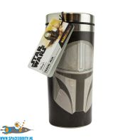 Star Wars The Mandalorian travel mug