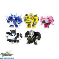 Transformers Q deformed gashapon figuren set van 5 pvc figuurtjes