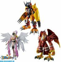Digimon Adventure Shodo vol. 1 set van 3 figuurtjes