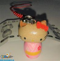Hello Kitty Kokeshi Netsuke hanger Hello Kitty Kimono