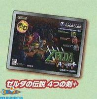 The Legend of Zelda historical pin Gamecube Four Swords