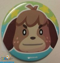 Animal Crossing button Digby