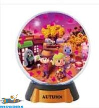 Animal Crossing New Leaf gashapon Snowglobe Autumm