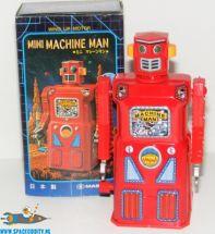Machine Man Robot met wind-up functie 10 cm