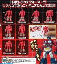 Transformers gashapon gum figuren set van 8 verschillende