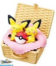 Pokemon Re-Ment Utatane basket Pichu & Pichu
