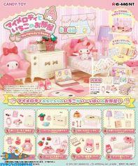 te koop-anime-retro-toys-store-winkel-amsterdam-My Melody Sanrio Re-Ment My Melody's room set van 8