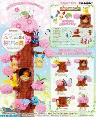 Amsterdam, speelgoed, winkel, Pokemon Forest 4 Cherry Blossoms Sakua Re-Ment set van 6 verschillende doosjes