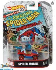 Marvel Hot Wheels die cast model Spider-Mobile