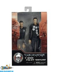 Terminator Genisys actiefiguur T-1000 Police Disguise Neca Amsterdam toy store