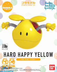 ​Gundam Haropla bouwpakket Haro Happy Yellow