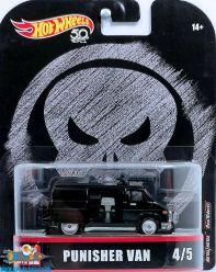 Marvel Hot Wheels die cast model Punisher Van