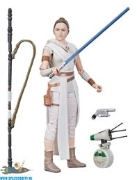 Star Wars The Black Series actiefiguur Rey & D-0