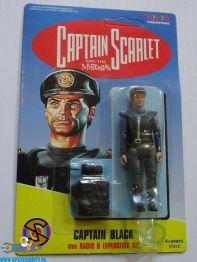Captain Scarlet actiefiguur Captain Black (90s)