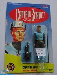 Captain Scarlet actiefiguur Captain Blue (90s)
