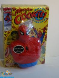 Marvel Comics Adventure Cookies en plastic Spider-Man spaarpot
