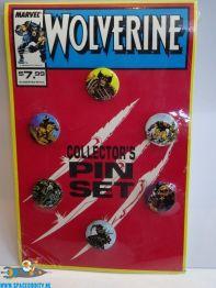Marvel X-Men vintage Wolverine button set