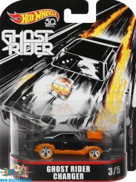 Marvel Hot Wheels die cast model Ghost Rider Charger