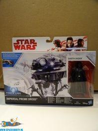 Star Wars Force Link actiefiguren Probe Droid & Darth Vader