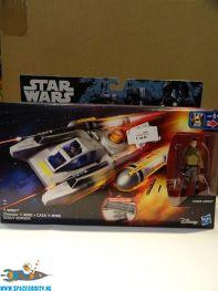 Star Wars Rebels Y-Wing & Kanan Jarrus actiefiguur