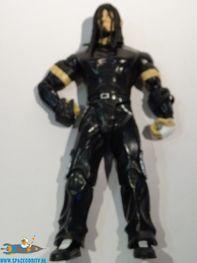 WWE actiefiguur in zwart pak