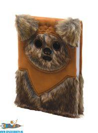 amsterdam, geek, winkel, Star Wars premium notitieboek A5 Ewok (fluffy)