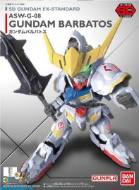 Anime Model kits Gundam SD Gundam Ex-Standard 010 Gundam Barbatos