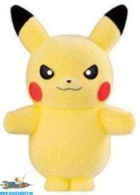 Pokemon Pokemofu Doll Pikachu looking sharp