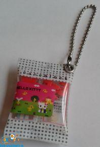 Hello Kitty keychain Nanoblock wit