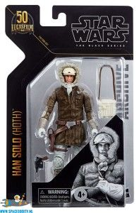 Star Wars The Black Series Archive actiefiguur Han Solo (hoth)