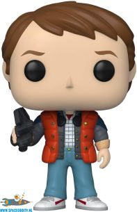 Pop! Movies Back To The Future vinyl figuur Marty in puffy vest