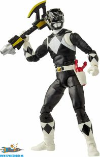 Powwer Rangers Lightning Collection actiefiguur Mighty Morphin Black Ranger