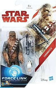 Star Wars Force Link actiefiguur Chewbacca & Porg