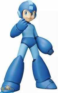 te koop, nederland, Rockman / Mega Man Grandista pvc figuur