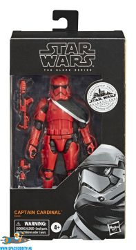 Amsterdam action, figure, store, Star Wars Galaxy's Edge The Black Series actiefiguur Capatain Cardinal