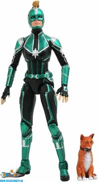 Marvel Select actiefiguur Starforce Captain Marvel