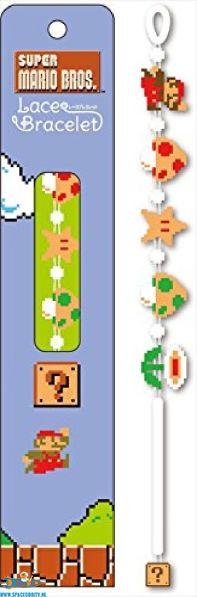 Super Mario Bros Lace Bracelet Mario items