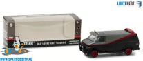 A-Team 1/64 scale die cast model 1983 GMC Vandura