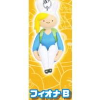 Adventure Time figure strap Fiona zittend