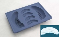 Alien silicone ice cub tray Big Chap