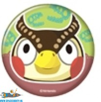 Animal Crossing button Blathers
