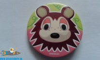 Animal Crossing button Sable