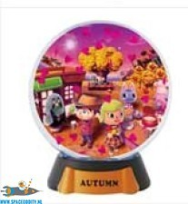 Animal Crossing New Leaf gashapon Snowglobe Autumn