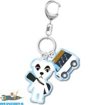 Animal Crossing sleutelhanger K.K. Slider
