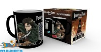 Attack on Titan beker/mok heat change Scouts