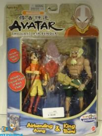Avatar: The Last Airbender Avatar Airbending Aang & King Bumi