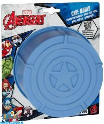 Avenegers Captain America Shield siliconen bakvorm