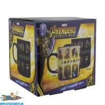 Avengers Infinity War heat change beker/mok