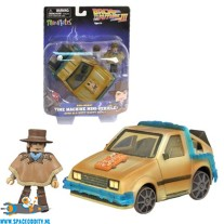 Back to the Future III Minimates Rail Ready Time Machine