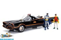 Batman classic tv-series 1/18 Batmobile met diecast Batman & Robin
